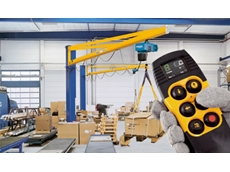 DRC-DC radio remote control systems for chain hoists