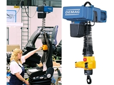 DCM-Pro electric chain hoist manulift