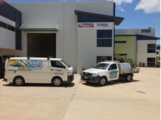 Demag's new facility in Mount St John, Townsville
