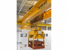 Demag crane technology at the Volkswagen plant