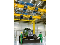 Demag supplies crane systems for John Deere in Russia