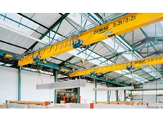 EDKE suspension cranes do not require pillars