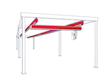 Free standing workstation cranes