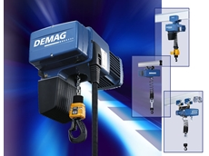 Increase Productivity with Electric Chain Hoists from MHE Demag Australia