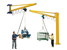 Demag slewing jib cranes