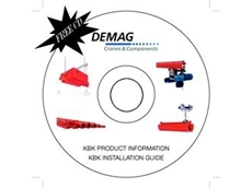 KBK light rail and workstation crane construction kit CD