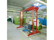 KBK portal cranes available from Demag