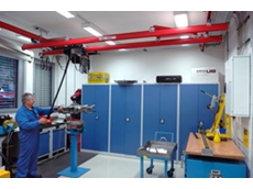 Demag single and double girder suspension cranes