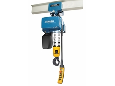 Demag Cranes and Components new range of chain hoists.