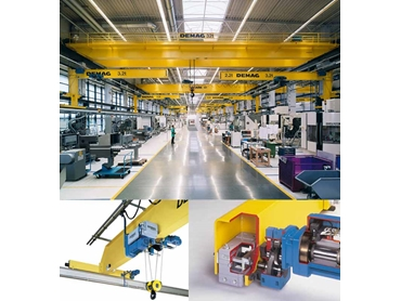 Demag overhead cranes provide quality and efficiency