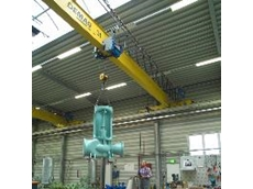 Single-girder overhead travelling cranes