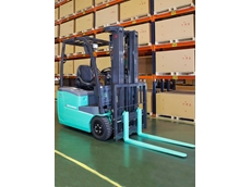 Mitsubishi FB-TCB series 3-wheel electric forklift truck