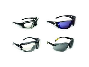 Comfortable eyewear with high quality industrial protection