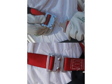 Approved safety standard harness equipment