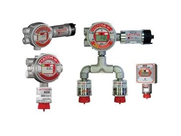 Permanent gas monitors provide continuous monitoring of hazardous gases.