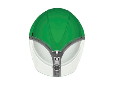 High performance safety with Photoluminescent Safety Cap V-GARD™ 500 Glow