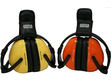 MSA Blocka F80 folding earmuffs