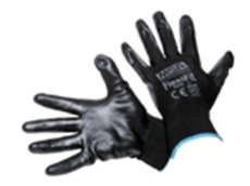MSA Flexifit Foam Nitrile Black Glove