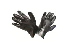 MSA Green Double Dipped PVC Glove - 27 cm
