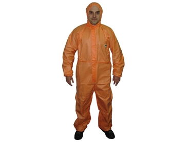 Disposable Coveralls ideal for those working with asbestos