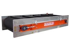Cogleme over belt magnetic separators now available from Magnet Sales Australia