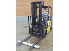 Hang type magnetic sweepers for forklifts can help to reduce flat tyres and injuries