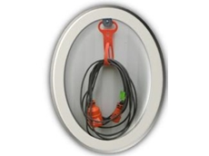 Cable-mate magnetic cable hanger