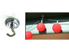 Magnetic Christmas light hooks