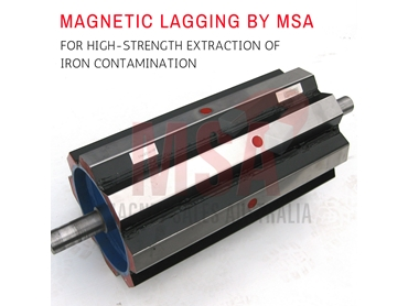 Magnetic Pulley Lagging – for maximum extraction of tramp metal
