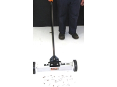 Magnetic sweeper brooms available from Magnet Sales Australia