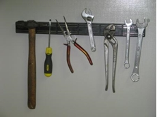 Magnetic tool tidy from Magnet Sales Australia