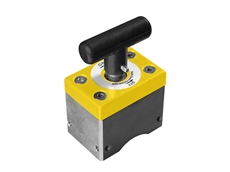 New magnetic square clamps pieces of steel for safe and secure welding