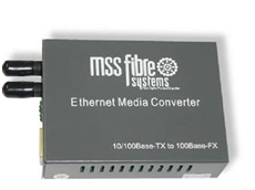 MSS Media converters from MSS Fibre Systems