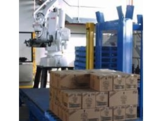 Robotic EOL palletising system