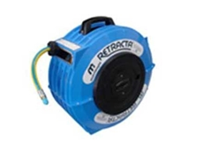 RETRACTA spring rewind hose reel
