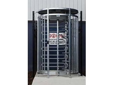 Full height MPT security turnstile
