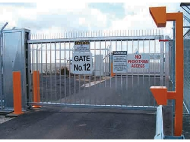 High security slide gates from Magnetic Automation