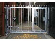 Magnetic swing gates