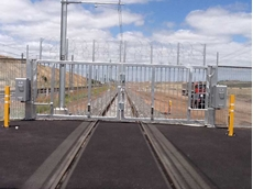 Magnetic's rail stabling gates