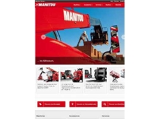 The new Manitou website