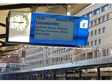 "46"" outdoor LCD unit being successfully used in direct sunlight in the European Railway"