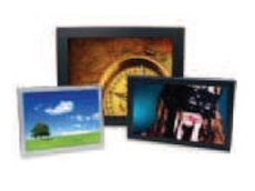 VideoFlyer LCD panels and ViewStream media players