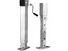 Adjustable Trailer Stands and Caravan Stands from Manutec
