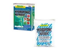 Hydroponic Nutrient Fertilisers from Manutec
