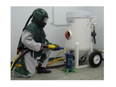 High performance abrasive blasting equipment