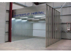 MASTERFLO dry filter spray booth