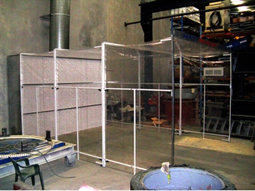 Mastre Flex Retractable Spray Booth Systems By Masterfield