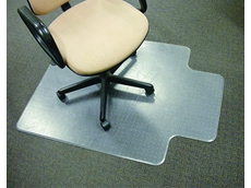 Chair Mats, specifically designed by Mat World to prevent wear and tear on carpets