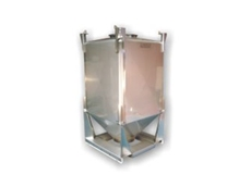The S series stainless steel IBC can be used for the storage and distribution of powders, granules and other materials
