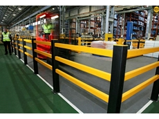 A-Safe pedestrian separation barriers are used to clearly mark out areas for walkways, equipment, guidance and building organisation